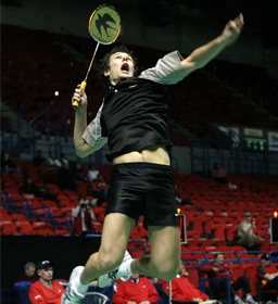 Silver Innovation supports Badminton