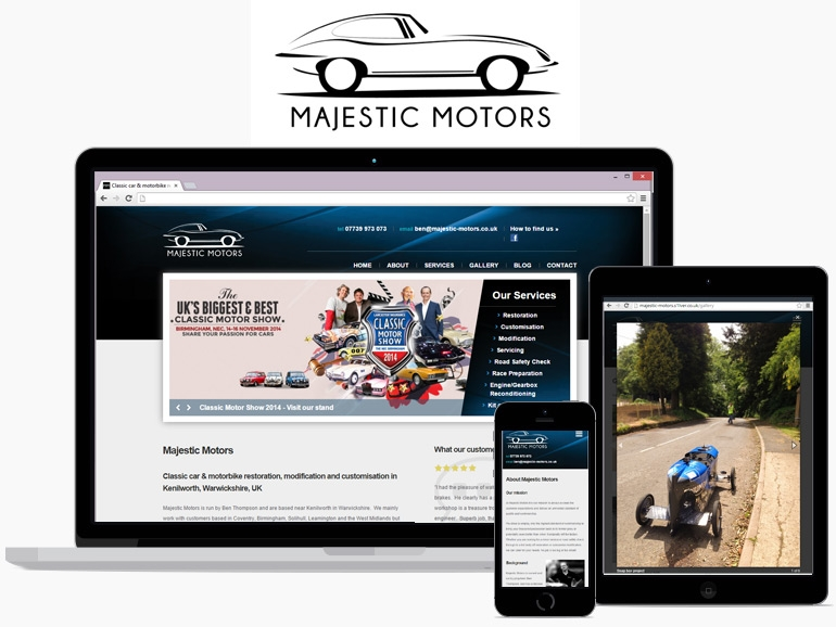 Majestic Motors Silver Innovation