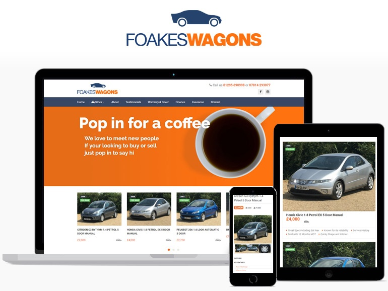 Foakeswagons - Responsive Design