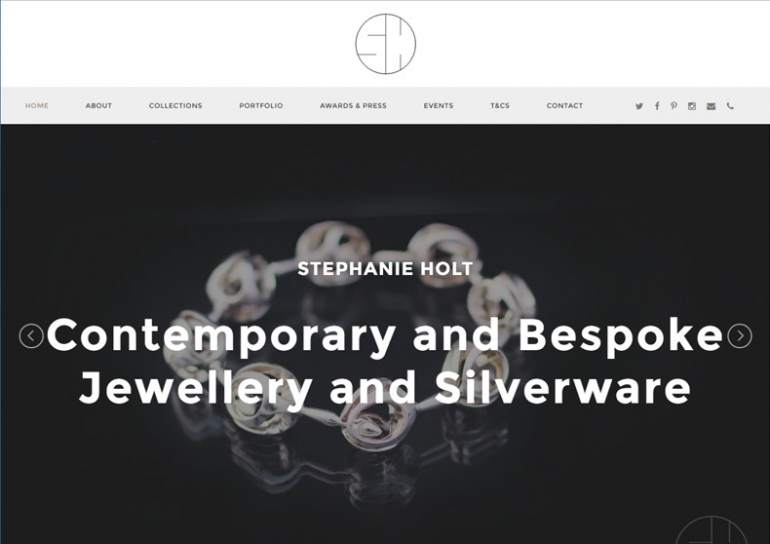 Stephanie Holt - Homepage