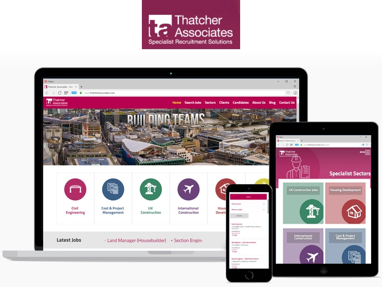 Thatchers Associates - Responsive Design