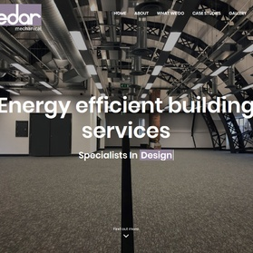 Cedar Mechanical Website