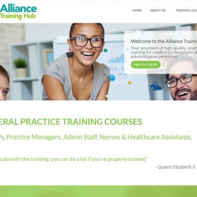Alliance Training Hub Website