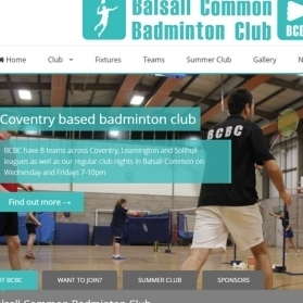 Badminton Club Website
