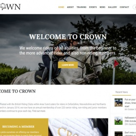 Crown Riding Website